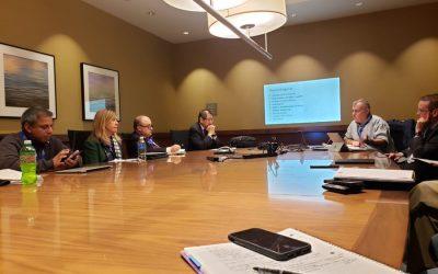 Reunión de participantes en SISSA, Boston