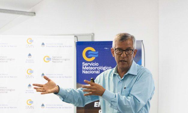 Visita de Osvaldo Moraes, Director de CEMADEN