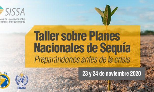Sesión inicial del Taller sobre Planes y Políticas Nacionales de Sequía
