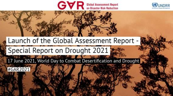 Presentación del Reporte GAR 2021 enfocado en sequías